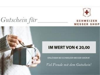 9500.20WG Geschenkgutschein 20€